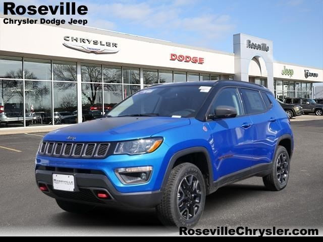 new 2018 jeep compass trailhawk sport utility in roseville. Black Bedroom Furniture Sets. Home Design Ideas