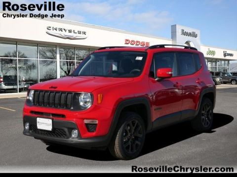 New 2019 JEEP Renegade Altitude 4x4 Sport Utility